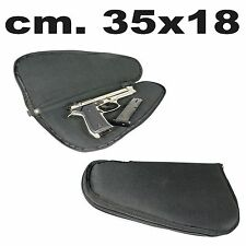 borsa porta pistola fodero imbottito custodia nera per pistole beretta poligono