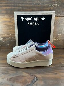 Adidas Originals Women's Superstar Bold Girls Are Awesome Shoes FW8084-NEW