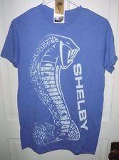 Ford Blue Shelby Cobra Mustang  Mens Tee T Shirt  X Large XL