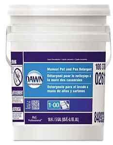 Liquid Dawn Dishwashing Manual Pot Pan Degreaser Original Scent 5 Gal (640 Oz)