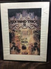 Jedi Mind Tricks Autograph Signed Poster Ft. Outers Space Framed Nice Rare