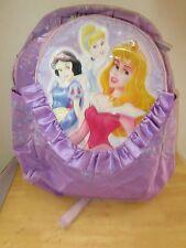 "Disney Princesses Large 16"" Backpack  Snow White Cinderella School Travel Bag"