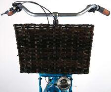 Fahrradkorb 40x33x24cm Weidenkorb Hundekorb Fahrrad Korb Bäckerkorb Rattan 8726