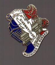 Pin's Police / gendarmerie - atelier machines de bureau EGF