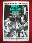 NIGHT OF THE LIVING DEAD *1968 ORIGINAL MOVIE POSTER 1SH GEORGE ROMERO HALLOWEEN