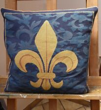 Feather Filled Cushion Scouts Be Prepared 1930,s Logo Free Shipping England