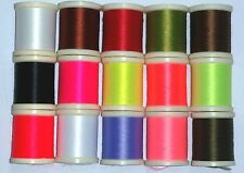 15 SPOOLS DANVILLE SINGLE STRAND STRETCH NYLON THREAD COMBO PACK