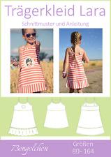 Schnittmuster und Nähanleitung Trägerkleid Lara für Kinder