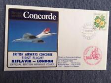 British Airways Concorde First Flight Keflavik - London 18th August 1984