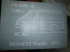 Renault TRAFIC propulsion : catalogue pièces PR1232-1