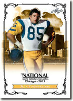 50) JACK YOUNGBLOOD - 2013 Leaf National Convention PROMO L.A Rams Football LOT