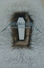 Metallica EX Large Flag Death Magnetic Tour Album Cover Wall Hanging