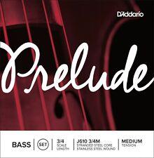 D'Addario J610-3/4M Prelude Upright Bass Strings