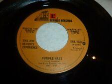 "JIMI HENDRIX - Purple Haze / Foxey Lady - 1970 USA 2-track 7"" Juke Box Single"