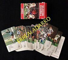 CARTAS SELECCION ESPAÑOLA 1982 FUTBOL HERACLIO FOURNIER ARCONADA-URRUTI ETC