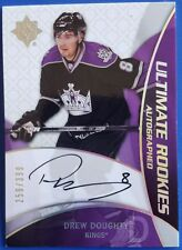 DREW DOUGHTY 2008-09 ULTIMATE ROOKIES AUTOGRAPHED 259/399 UD ULTIMATE COLLECTION