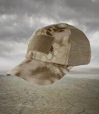 Condor Kryptek Nomad Desert Tan Mesh Tactical Operators cap hat