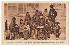CANADA 446 -MISSIONS D'EXTRÊME-NORD Série II La leçon de catéchisme à l'Orphelin