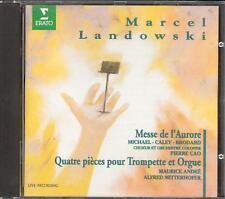 LANDOWSKI - Messe De L'Aurore / 4 Pieces For Trumpet & Organ - Pierre CAO