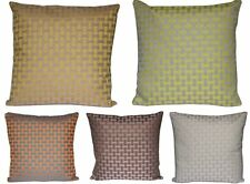 "Beautiful Check Design Print 16"" X 16"" Cushion Cover Pillow for Sofa Bed"