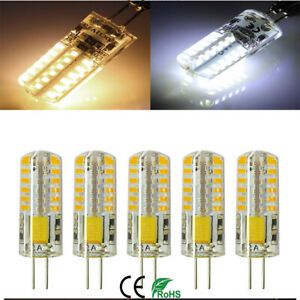 1-10XG4 LED Bi-Pin 48LED 3014 SMD 3W Light Bulb 20W T3 Halogen Lamps Equivalent