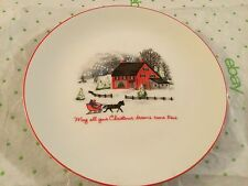 May all your Christmas dreams come true decorative plate