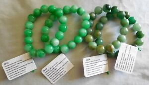 Handcrafted Natural Jade Necklaces Bracelets & Earrings by Healing Light Stones
