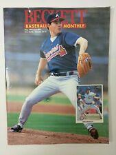 Beckett baseball card monthly may 1993 issue 98 Greg Maddux