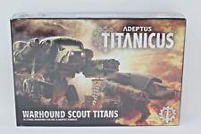 Warhammer Adeptus Titanicus Warhound Scout Titans