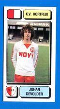 FOOTBALL 83 BELGIO Panini -Figurina-Sticker n. 139 - DEVOLDER - KORTRIJK -New