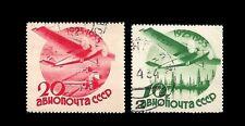 RUSSIA Air Post Stamps. 1934. Scott C46-C47. Canceled (BI#46/170607)