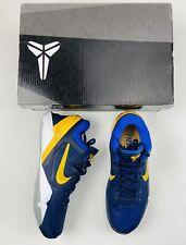 2012 Nike Zoom Kobe VII 7 System Size 10 - Gold Game Royal - 488371 404