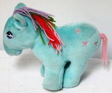 MLP My Little Pony Bow Tie G1 Plush Softies Rainbow Yarn Hair Stuffed Animal Toy
