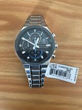 Casio Men's Solar Powered Edifice Stainless Steel Watch EQS920DB-1BV - BRAND NEW