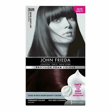 John Frieda Precision Foam Colour Hair Dye Number 3VR, 3N, 4BG & 6N Chose Shade