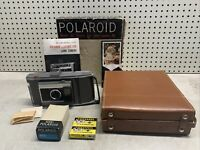 Vintage Polaroid Land Camera J66 COMPLETE w/BOX & MORE COOL PROP UNTESTED DECOR