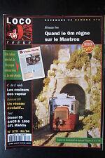 MODELISME FERROVIAIRE TRAIN MAGAZINE LOCO REVUE N° 575 de 1994