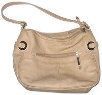 Rosetti Shoulder Bag Satchel Handbag Beige Purse Womens