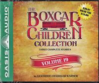 NEW The Boxcar Children Collection Volume 19 Audio Book Unabridged Warner