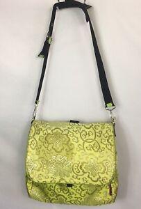 Im A Rose N Bloom Green Diaper Shoulder Bag