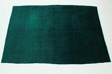 Exclusivamente Vintage Elegante Verde Neón Look Usado Alfombra Persa Oriental