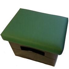 Bierkistensitzkissen Uni-Farbe-Getränkekisten-Kissen Uni-Farbe- Lederfarbe Grün