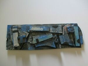 SAMUEL ABSTRACT HANGING SCULPTURE EXPRESSIONISM EXPRESSIONISM ASSEMBLAGE POP