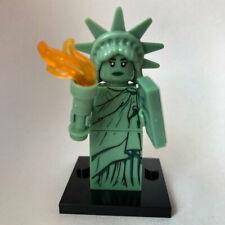 Statue of Liberty Minifigure Collectible Toys Mini figurine Monument Model Block