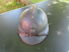 CASQUE ADRIAN BLEU HORIZON 1915 OFFICIER INFANTERIE CAVALERIE ORIGINAL WW1