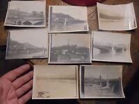 Lyon anciens Tirages Photo La Sâone les Quais Fourvière les Ponts Le Rhone