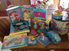 Vintage Disney Little Mermaid Toys Huge Bundle Lot. Still Sealed. Bath Set Play