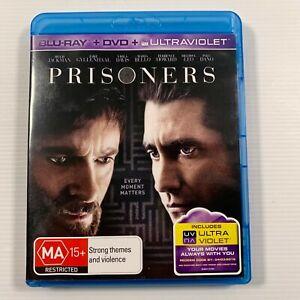 Prisoners (Blu-ray, 2014, 2-Disc Set) Hugh Jackman, Jake Gyllenhaal Region B