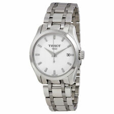 T0352101101600 Tissot Couturier Silver Dial Stainless Steel Ladies Watch
