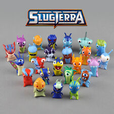 24 PCS Cartoon Movie Slugterra PVC 5cm monster Play Doll model cake topper Gift